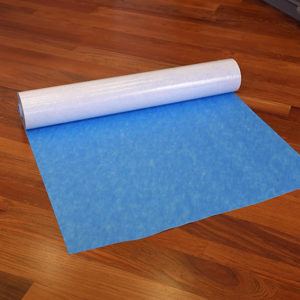 Roll of Polysols original blue surface protection